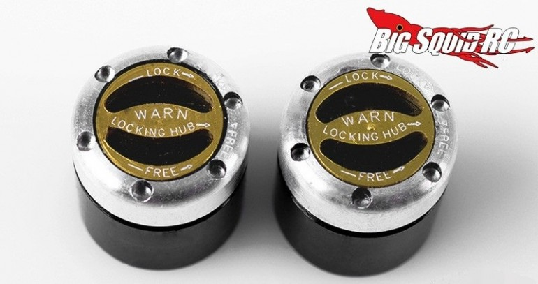 RC4WD 1/8 Warn Locking Hubs