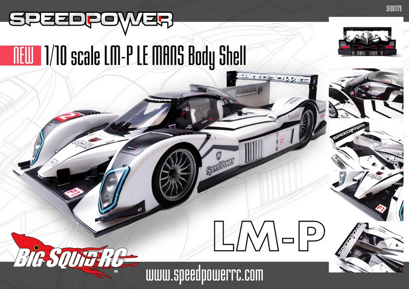 New Speed Power Lm P 1 10 Le Mans Body 171 Big Squid Rc Rc