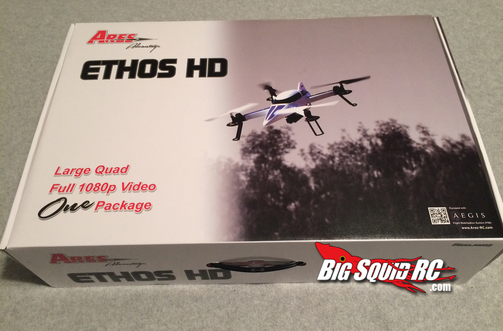 Ares Ethos Hd 171 Big Squid Rc Rc Car And Truck News
