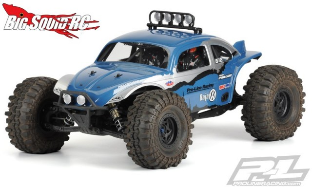 Pro-Line Volkswagen Baja Bug Clear Body Axial Yeti