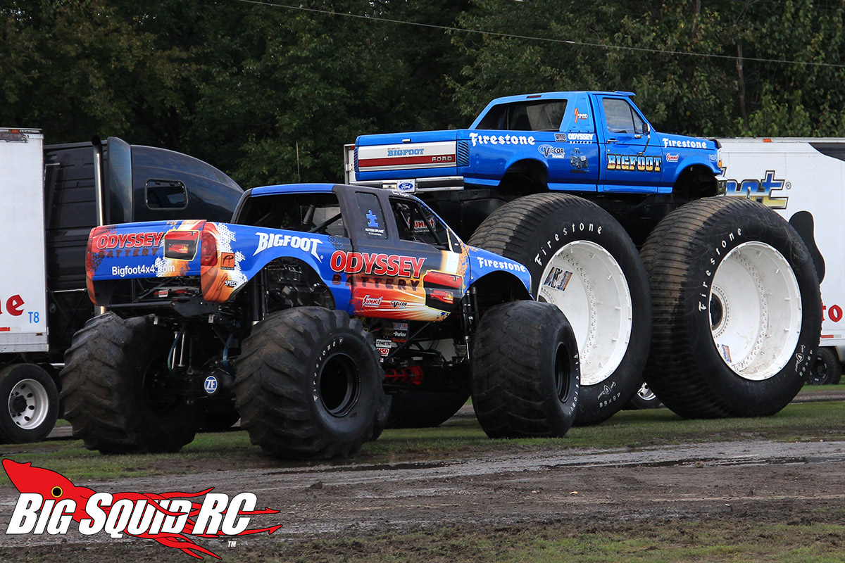 Everybody S Scalin For The Weekend Bigfoot Monster Truck