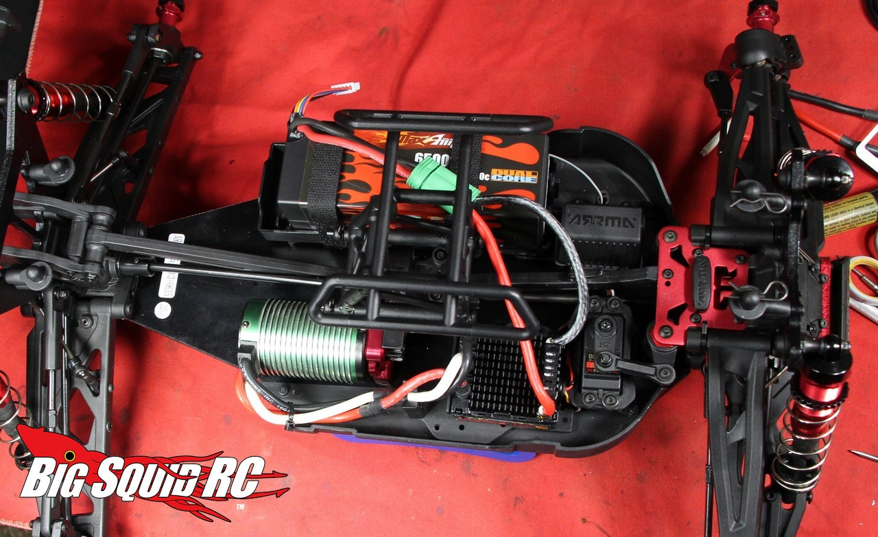 How To Upgrade The Electronics In The Arrma Kraton 171 Big