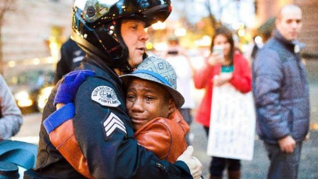 Ferguson Portland Rally Johnny Nguyen