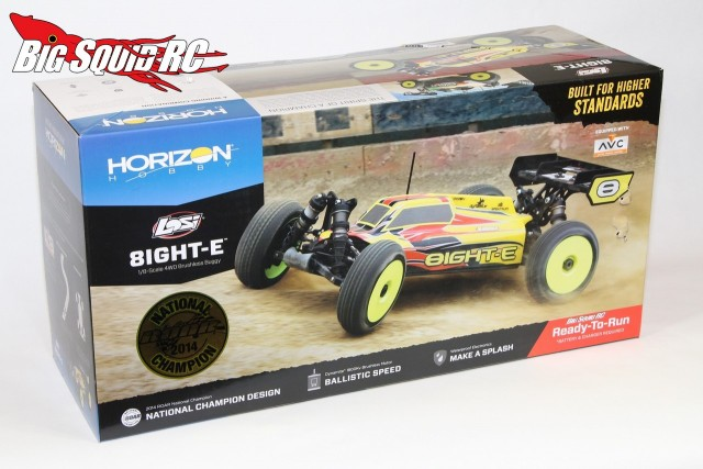 Unboxing Losi 8ight-e rtr