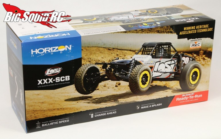 Losi XXX-SCB Brushless Buggy Unboxing