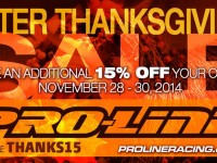 Pro-Line thanksgiving sale