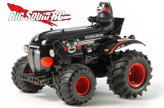 Tamiya Kumamon RC Tractor