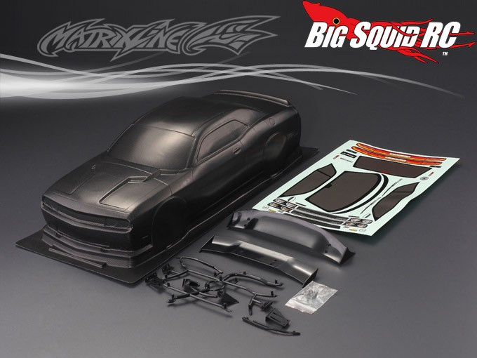 Matrixline Rc Dodge Challenger Srt Body 171 Big Squid Rc