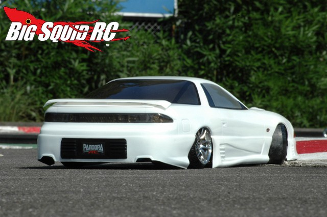 Pandora Rc Mitsubishi Gto 3000gt Clear Body Big Squid Rc