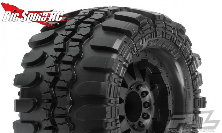 Pro-Line Mounted Interco TSL SX Super Swamper 3.8 Tires