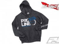 Pro-Line Stacked Charcoal Heather Zip-up Hoodie
