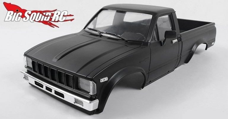 RC4WD Matte Black Mojave Body Set For Trail Finder 2