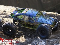 Axial Yeti with Pro-Line Volkswagen Bug Body