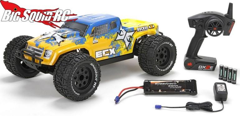 ECX 4WD Brushless Ruckus AVC