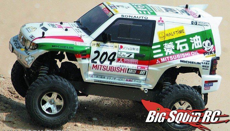 Killerbody RC Mitsubishi Pajero Evo Body