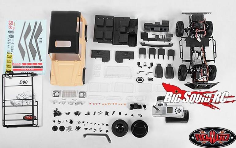 RC4WD Gelande II RTR D90 Truck Kit 4