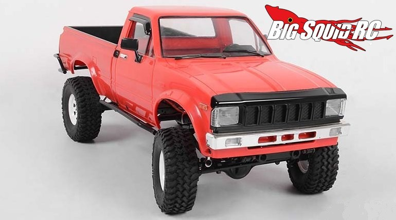 RC4WD Hood and Window Deflector Set for Mojave Hilux Bodies