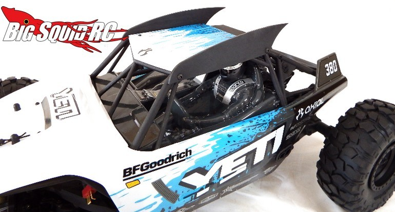 T-Bone Racing Body Fins Axial Yeti