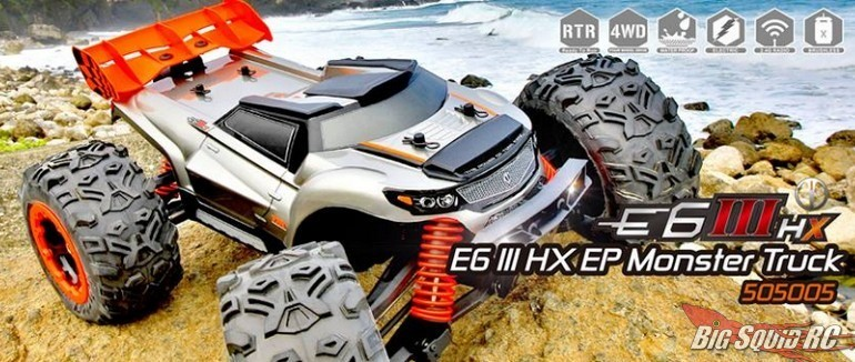 Team Magic E6 III HX Monster Truck