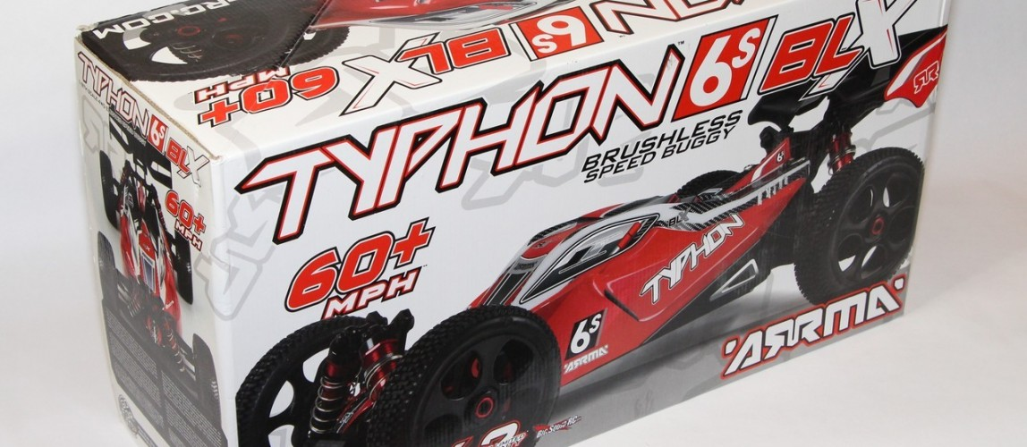 ARRMA Typhon Buggy Unboxing