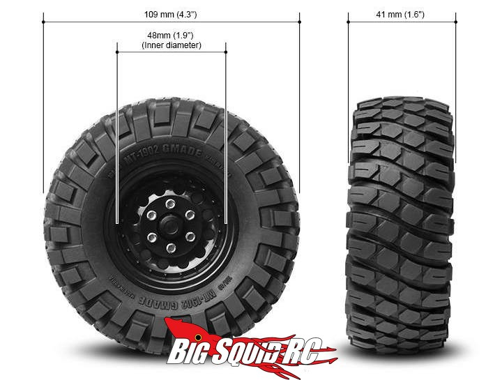 Gmade Mt Offroad Tires