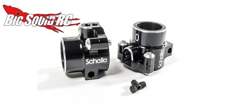 Schelle B5 aluminium rear hubs