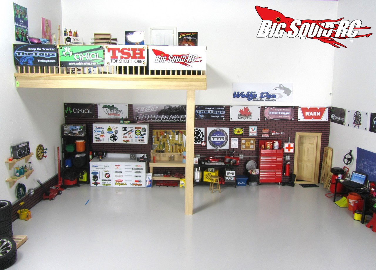 Build A Car Workshop Winter Project Building A Scale Garage With Thetoyz Com