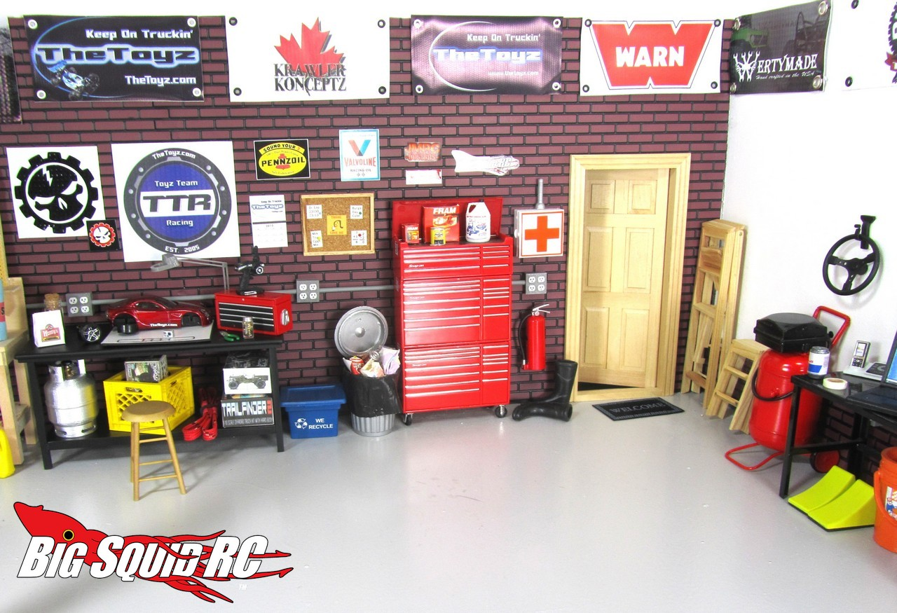 Winter Project Building A Scale Garage With Thetoyz Com