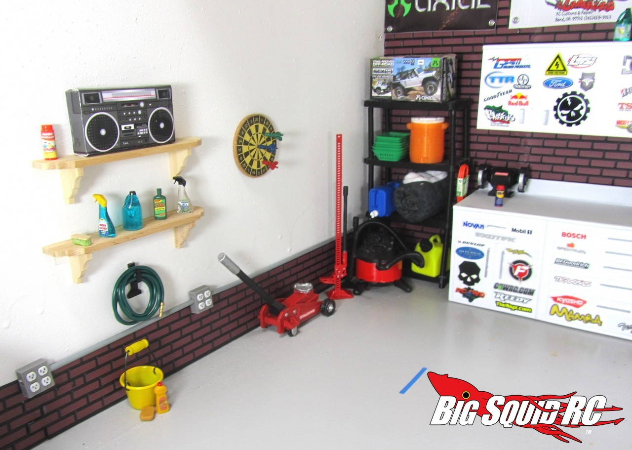 Build A Car From Scratch >> Winter Project – Building A Scale Garage with TheToyz.com « Big Squid RC – RC Car and Truck News ...