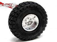 Gear Head RC 1.9 Five Star EZ-Loc Aluminum Wheels
