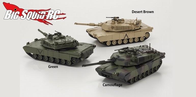 Kyosho I-Driver Abrams Tank