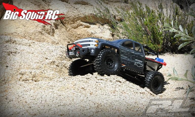 New Chevy Silverado >> Pro-Line Chevy Silverado Clear Body for SCX10 Trail Honcho ...
