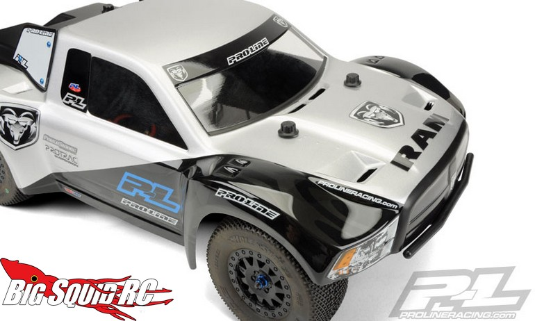 pro line ram 2500 clear sct body big squid rc rc car. Black Bedroom Furniture Sets. Home Design Ideas