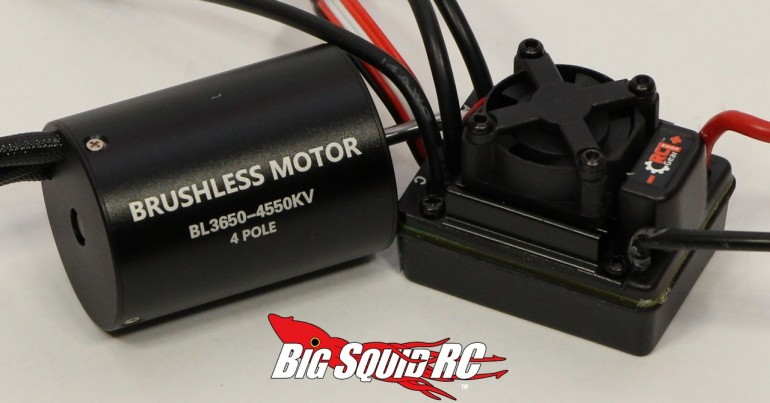 RC Gear Shop 4550kV Brushless System Review