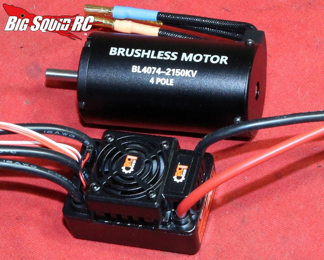 Rc Gear Shop 1 8 2150kv Brushless Motor System Review