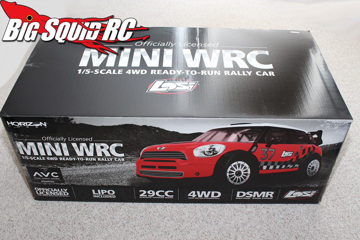 Losi 5IVE Mini WRC Rally Car Unboxing « Big Squid RC – RC Car and ...