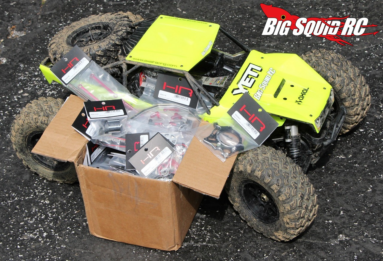 Box Full Of Uberness Aluminum Upgrades For The Yeti Xl