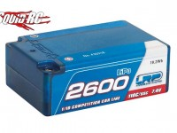 LRP Super Shorty 7.4V 2600mAh LiPo