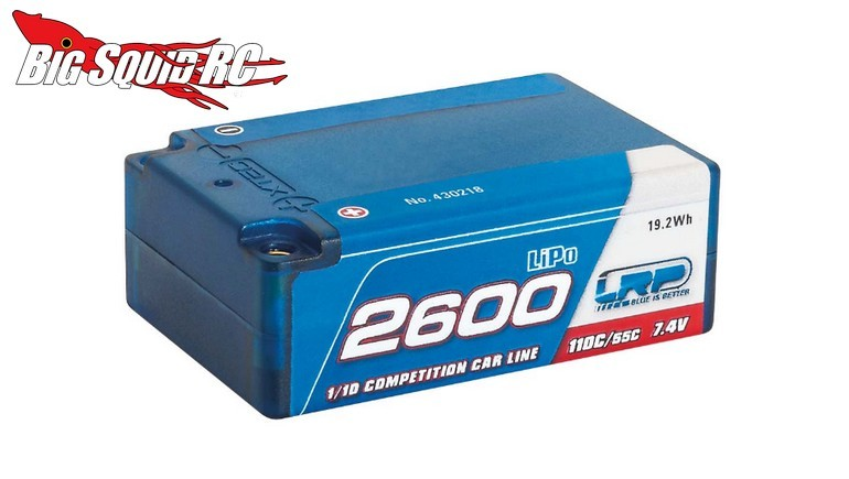 LRP Super Shorty 7.4V 2600mAh LiPo