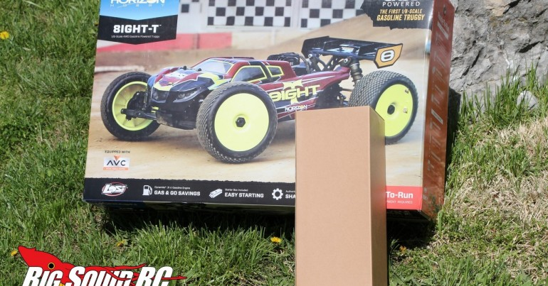 Losi Gasoline 8IGHT-T Truggy Unboxing