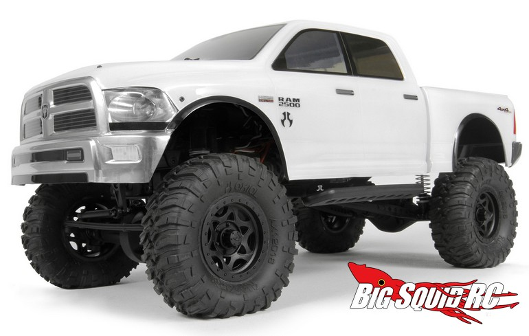 axial racing 2015 ram 2500 power wagon clear body big. Black Bedroom Furniture Sets. Home Design Ideas