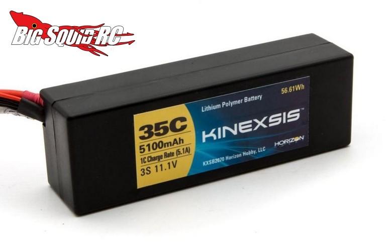 Kinexsis lipo batteries