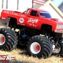 retro monster truck racer