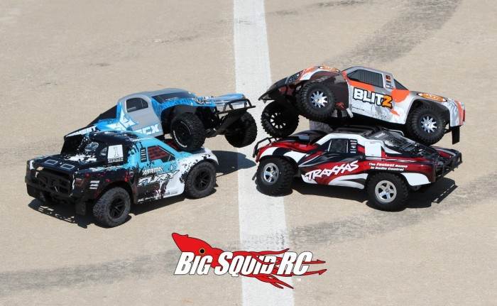 Brushed 2wd Short Course Truck Shootout Group 1