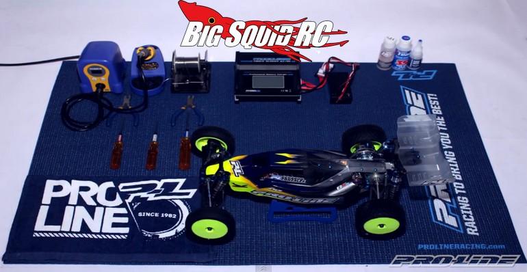 Video Pro Line Roll Up Pit Mat 171 Big Squid Rc Rc Car