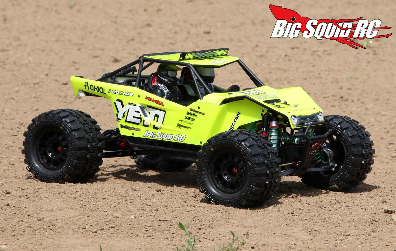 project thetoyz axial yeti xl mega basher big squid rc rc car