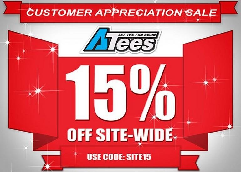 AsiaTees Customer Appreciation