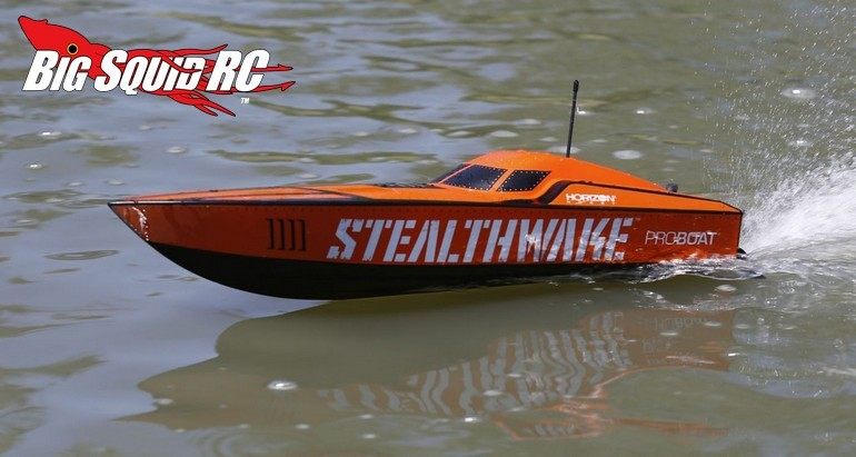 Pro boat stealthwake 23 brushed