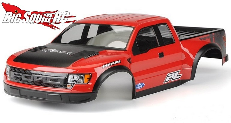 Pro-Line pre-painted Ford Raptor