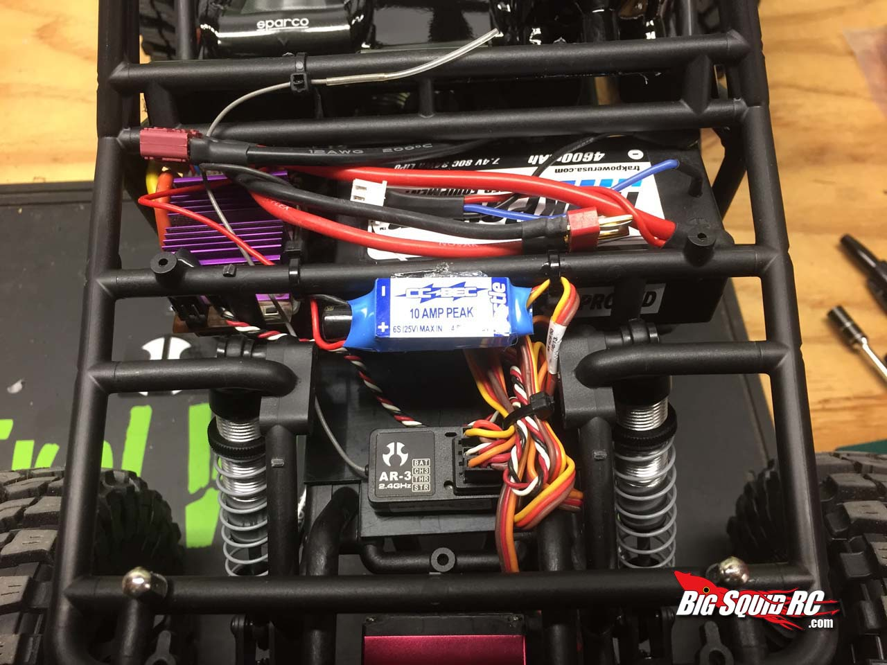 Axial Wraith Spawn Kit The Build Up 171 Big Squid Rc Rc